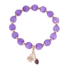 Picture of Forever Bold – Natural Stone Bracelet with Malaysian Jade, Swarovski Crystal and Rose Gold
